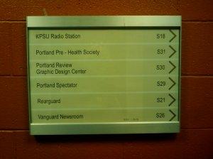 Portland State(student union)